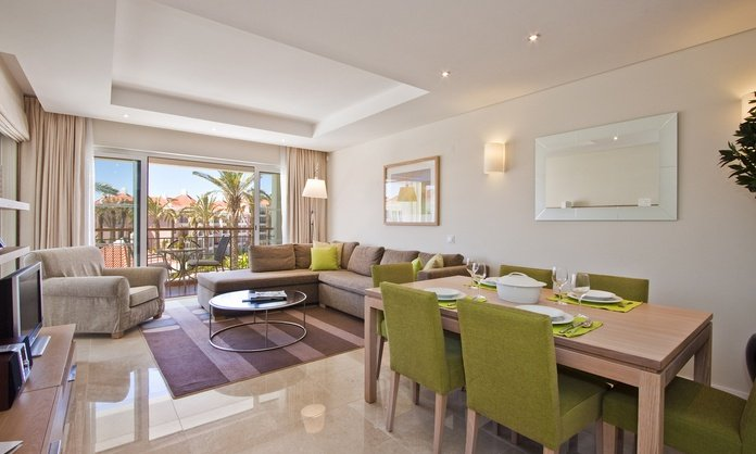 Suite de lujo con 2 habitaciones As Cascatas Golf Resort & Spa Vilamoura Vilamoura